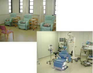 リカバリー室と手術室